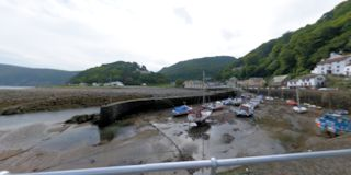 Lynmouth Harbour Arm