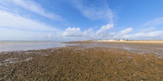 Low tide in the Solent