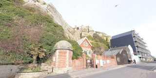 Hastings - Furnicular Railway and Stade